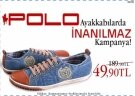 Polo ayakkablarda inanlmaz indirim...