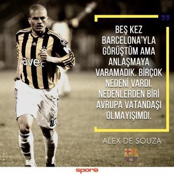 Alex de Souza: 'Teknik direktör olarak döneceğim'