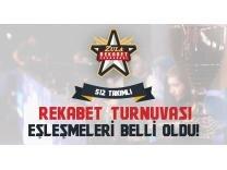 512 Takımlı ve 30.000 TL ödüllü turnuvanın eşleşmeleri belli oldu Galerisi