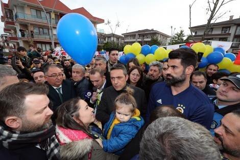 Ali Koç, Koray Şener Parkı'nın açılışına katıldı