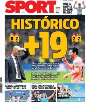 Avrupa futbolunun manşetleri!