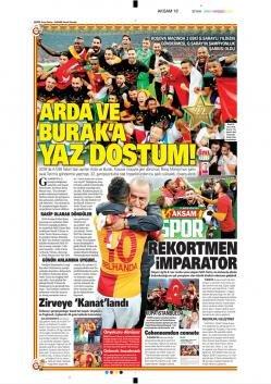 Gazete manşetleri - 21 Mayıs