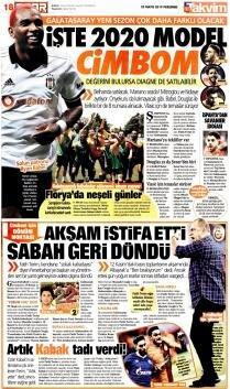 Galatasaray manşetleri - 23  Mayıs