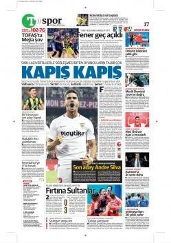 Fenerbahçe gazete manşetleri - 24 Mayıs