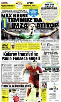 İşte günün transfer manşetleri!
