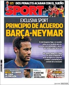 Avrupa spor basınında gündem!