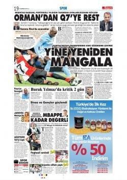 Beşiktaş Manşetleri (25 Haziran)
