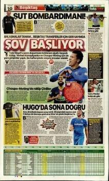 Günün Beşiktaş manşetleri! (15 Temmuz 2019)