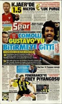 Günün Fenerbahçe manşetleri (15 Temmuz 2019)