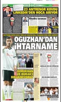Beşiktaş Manşetleri (19 Temmuz)