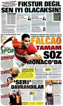 Galatasaray Manşetleri (19 Temmuz)