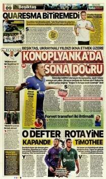 Transfer manşetleri alev alev - 20 Temmuz