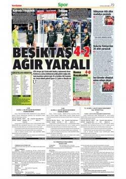 Günün Beşiktaş manşetleri (20 Eylül 2019)