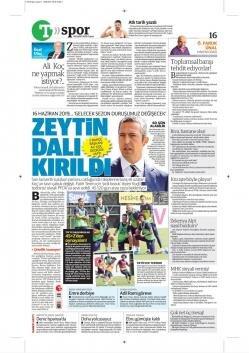 Günün Fenerbahçe manşetleri (20 Eylül 2019)