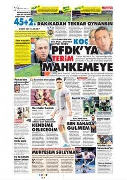 Günün Galatasaray manşetleri (20 Eylül 2019)