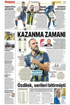 Fenerbahçe Manşetleri (20 Ekim)