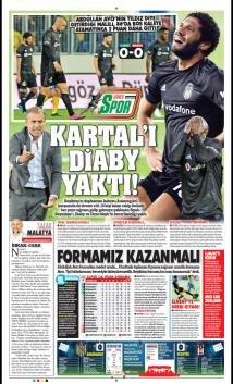 Günün spor manşetleri [20 Ekim 2019]