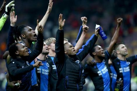 Belçika'da şampiyon Club Brugge