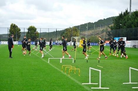 Beşiktaş idman (22 Ekim)