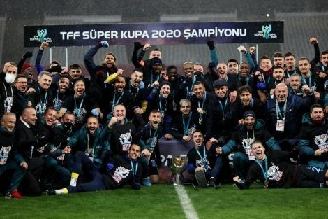 Trabzonspor, 9. Süper Kupa zaferini yaşadı