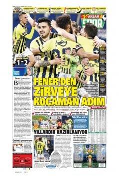 Fenerbahçe manşetleri - 19 Nisan