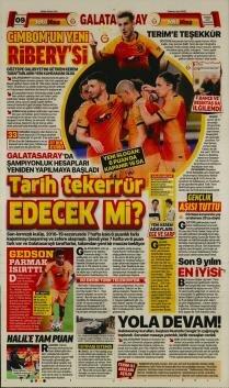Galatasaray manşetleri - 19 Nisan