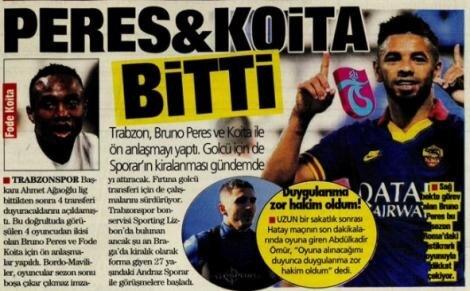 Trabzonspor manşetleri - 19 Nisan