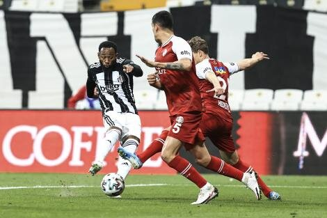Beşiktaş 1-2 Fatih Karagümrük