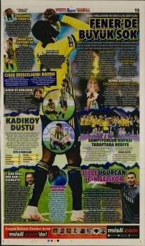 Fenerbahçe manşetleri - 13 Mayıs