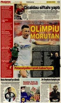 Günün Galatasaray manşetleri (26 Temmuz 2021)
