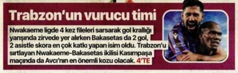 Günün Trabzonspor manşetleri (17 Eylül 2021)