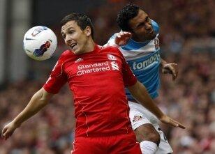 Liverpool ikramla başladı: 1-1