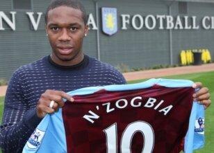 Aston Villa N'Zogbia'ya kavuştu!