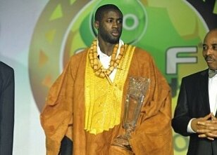 Afrika'nın en iyisi Yaya Toure