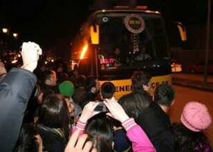 Fenerbahçe kafilesi hareket etti