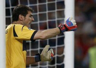 Casillas maç sonu coştu!
