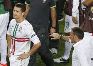 Ronaldo'dan maç sonu!