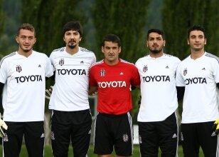 Beşiktaş'ın dört file bekçisi ve kaleci antrenörü Jose Sambade