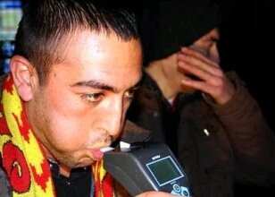 Süper Kupa'da alkolmetre