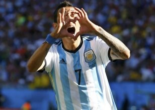 Arjantin'in şans meleği; 'Di Maria'
