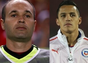 Andres Iniesta / Alexis Sanchez