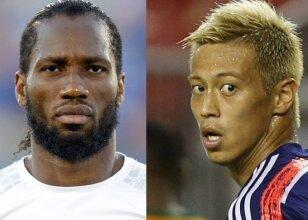 Didier Drogba - Keisuke Honda