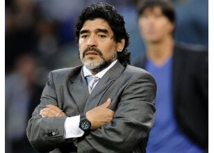 Maradona, Arjantin için adayını açıkladı