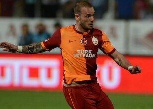 Sneijder: 'Golü kimin attığı...'