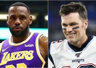 LeBron: 'Tom Brady ile biz aynı kumaştanız'