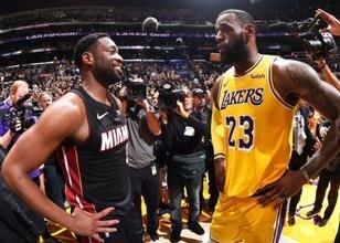 Wade: 'LeBron istese bile Lakers'a gitmem'