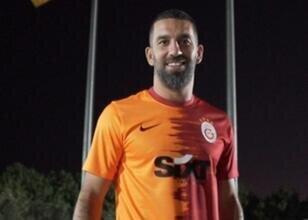 Galatasaray'dan Arda Turan'ın jestine jest; 'Her haliyle gördük'