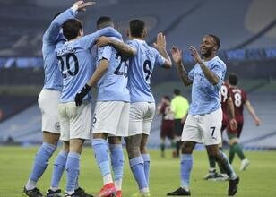 Manchester City üst üste 21. galibiyetini aldı - Sporx