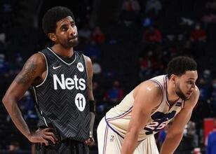 76ers, Kyrie Irving için henüz Nets'i aramamış!