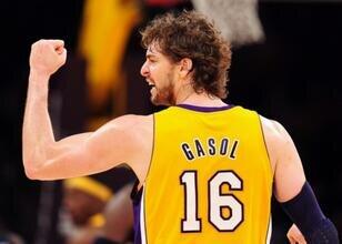 Gasol'un 16 numarasını Lakers emekliye ayırıyor